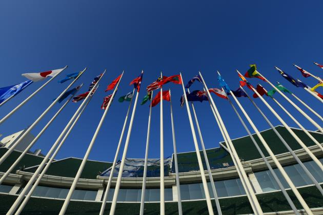 Flags UN